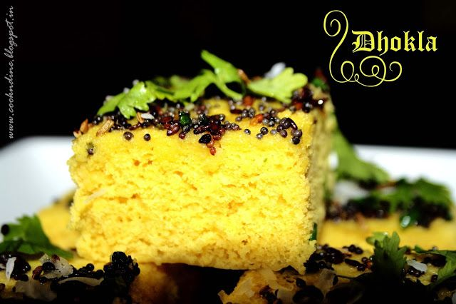 Instant Dhoklas...Gujarati Special An apt one to have as a breakfast/evening snack.. Steamed food..