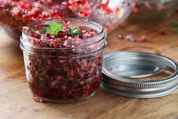 Cranberry salsa, Cranberries and Salsa on Pinterest