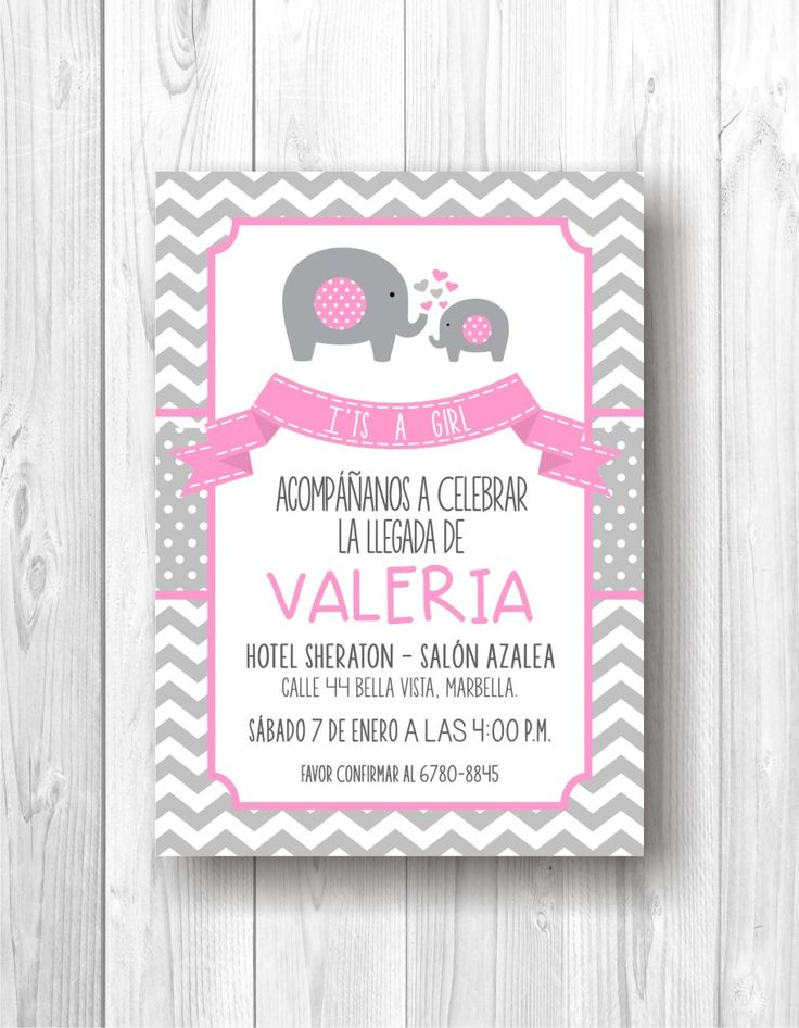 The 25 best tarjetas baby shower ni a ideas on pinterest - Ideas para baby shower nina ...