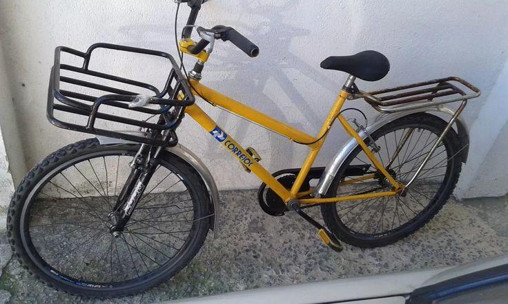Antiga Bicicleta Do Correio Não É Caloi Monark Philips Gallo - R$ 890,00 em Mercado Livre