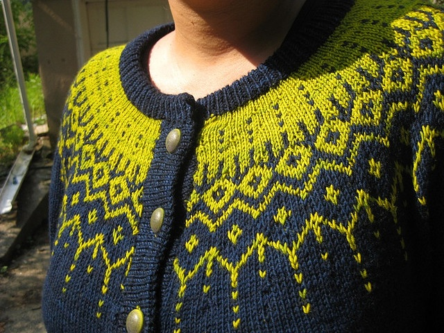Ravelry: reanbean's drops yoke sweater
