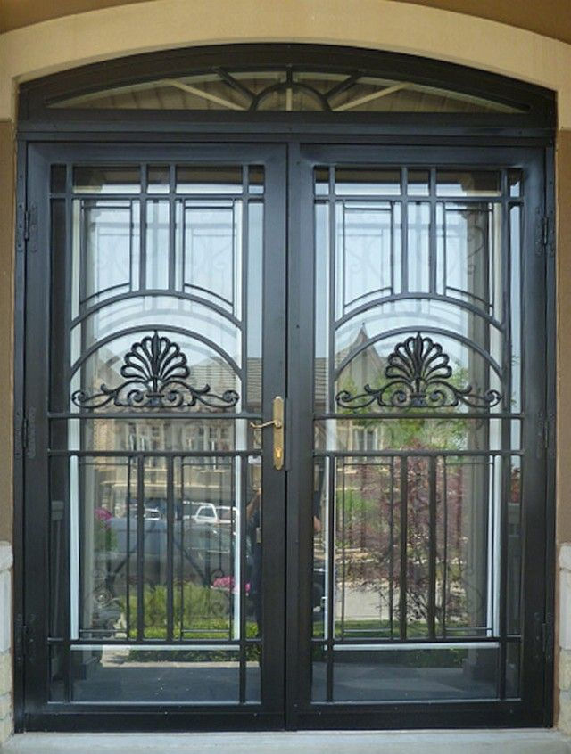 Chicago Custom Steel Security Storm Doors Installation  Sahara Window and Doors carries a large selection of custom steel security storm doors from many of the industry's best storm door manufacturers. All steel security doors carried by Sahara Window and Doors are fully customizable and offer many different options, which include:       Matching
