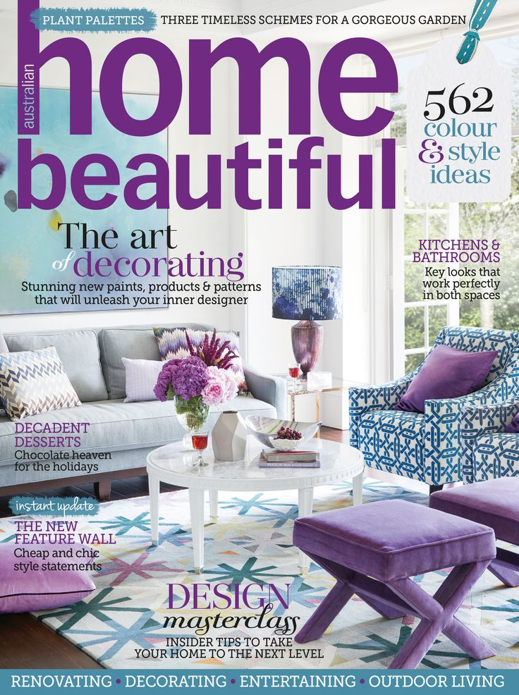 Home And Decor Ideas Magazine Part - 30: Home Beautiful April 2015. Home Decor IdeasMagazine ...