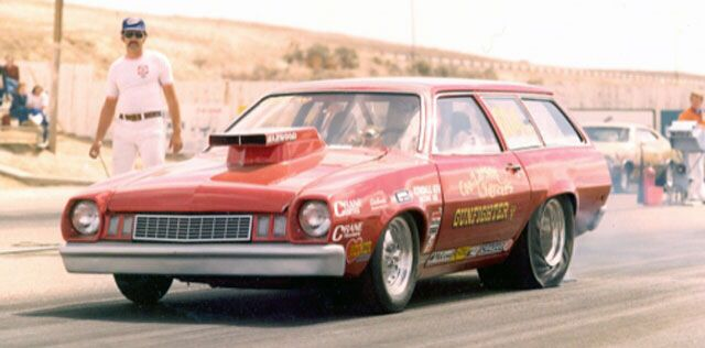 Vintage Drag Racing - FORD Pinto - Pro Stock - 'Gunfighter'