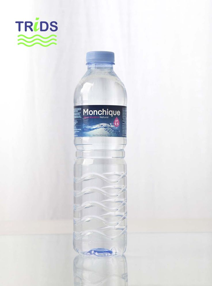 Botella agua Monchique de 0.5 litros