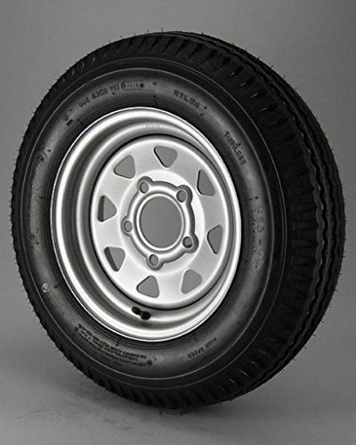 "Ecustomrim Trailer Tire & Rim ST205/75D15 15"" Load C 5 Lug Silver Spoke 58878  https://www.safetygearhq.com/product/tyre-shop-tire-warehouse/ecustomrim-trailer-tire-rim-st20575d15-15-load-c-5-lug-silver-spoke-58878/"