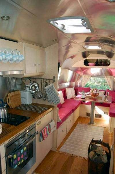 Airstream remodeled- Spokeshave Devon Bespoke Furniture Gallery