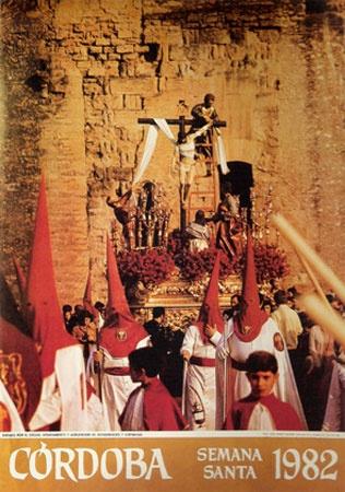 Carteles cofrades, Semana Santa, Cordoba, Spain