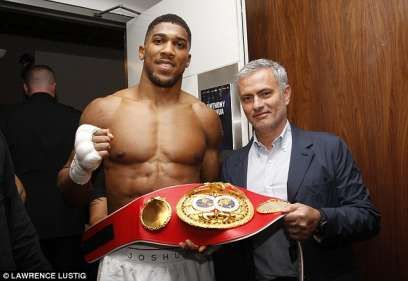 World Boxing Champ Anthony Joshua Reveals Nigerian Boarding School Taught Him Discipline