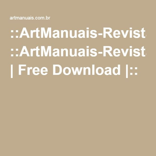 ::ArtManuais-Revistas | Free Download |::