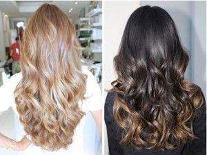 DIY ombre hair using a lighter colored halo extension - no need to dye your own hair. EASY and these extensions are half the price of the salon sold halo couture.