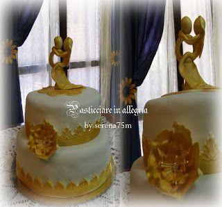 pasticciare in allegria: Torta 50esimo Anniversario di Matrimonio