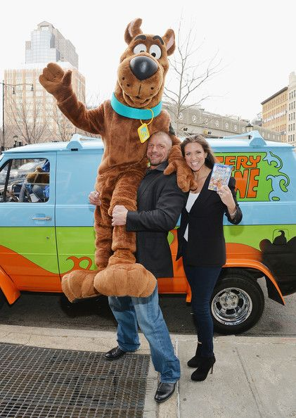 "Stephanie McMahon - ""Scooby Doo! WrestleMania Mystery"" New York Premiere"