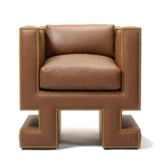 Reminds Me Of Cutout Wedges   Brian Armchair By Naula Workshop