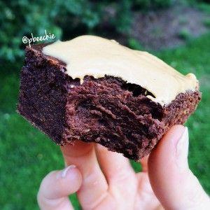 PB Nutella Protein Brownies