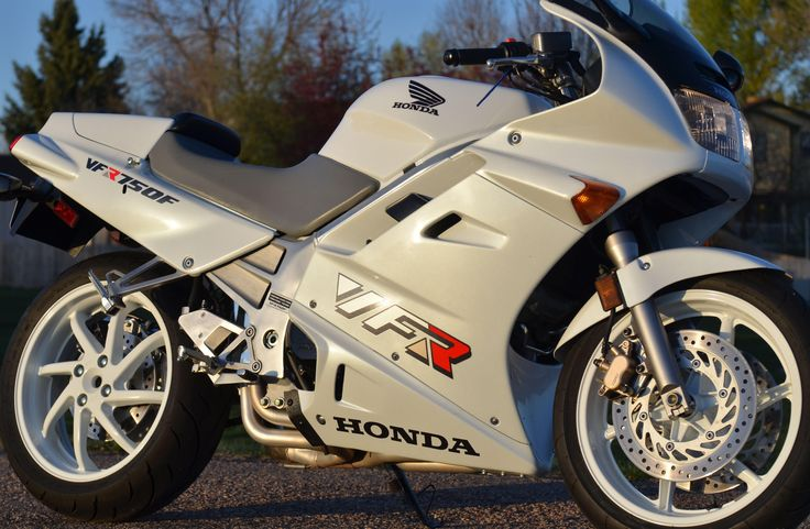 best bike 1993 Honda VFR 750f White