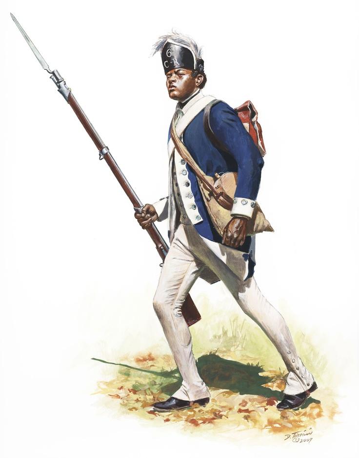 Don Troiani - 6th Connecticut Regiment Private 1780
