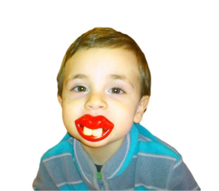 #αστεία #πιπίλα με #δόντια