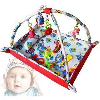 100% PAMUK Hopim Bebek Oyun Halısı ve Çocuk Oyun Alanı