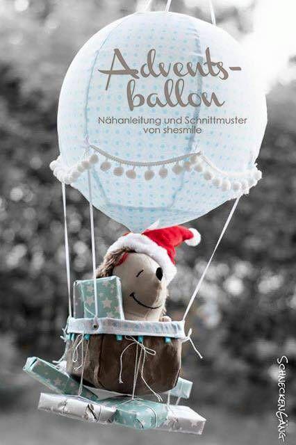 adventskalender und kinderzimmerdeko adventsballon. Black Bedroom Furniture Sets. Home Design Ideas