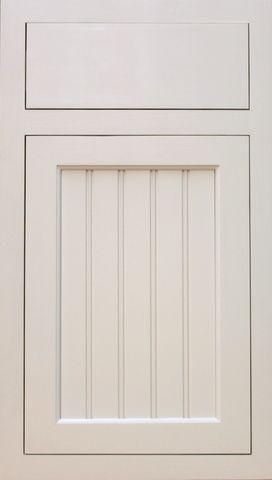 Style 122 Shaker Beadboard Panel Cabinet Door (Pictured ...