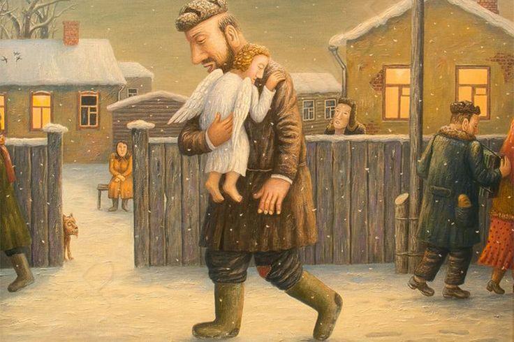 Иллюстрация: Владимир Любаров. «Ангел»: