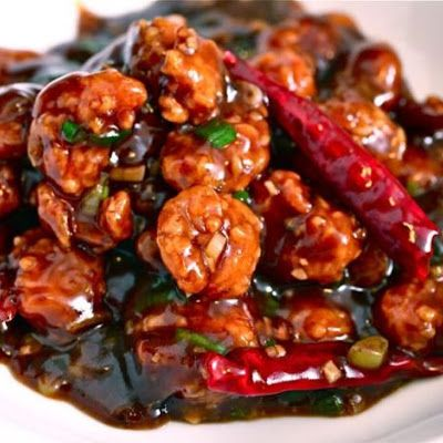 Spice up you night with this delicious General Tso's Shrimp. You can easily substitute chicken for the shrimp. Serve with a side of rice.