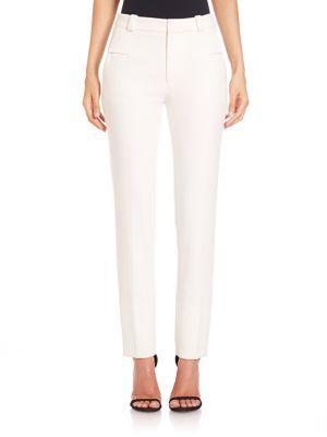ROLAND MOURET Lacerta Straight-Leg Pants. #rolandmouret #cloth #pants