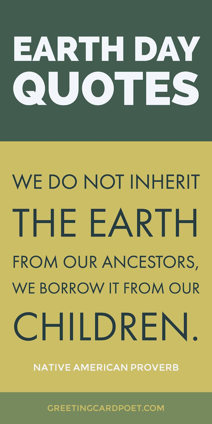 Earth Day quotes, slogans and sayings. April 22, 2017.  What is Earth Day? When is Earth Day? When was the first Earth Day? Fun Facts about Earth Day.