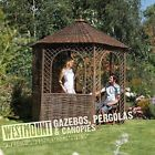 NEW FLOOR BEAUTIFUL GARDEN PATIO OUTDOOR NATURAL WILLOW RUSTIC GAZEBO PAGODA
