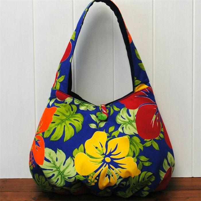 Tween/teen floral hobo bag
