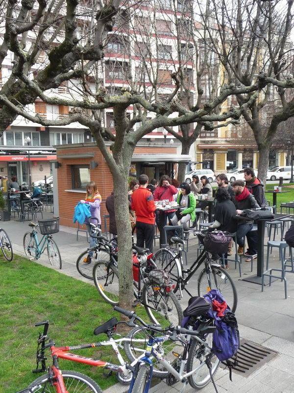 En marcha #30DíasenBici - 4 Bicicletada Preparatoria 23 de Febrero de 2014