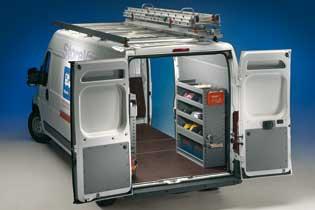 Modello di Officina Mobile Store Van per Fiat Ducato
