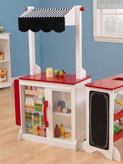 53 besten market stand bilder auf pinterest spielzimmer. Black Bedroom Furniture Sets. Home Design Ideas