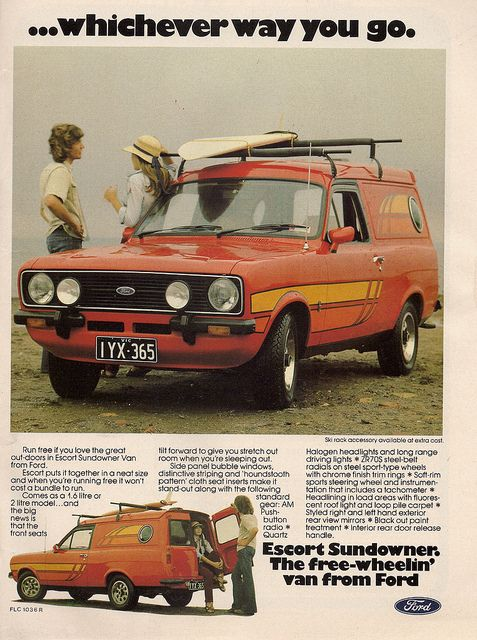 Australian Market Ford Escort Sundowner by glen.h, via Flickr