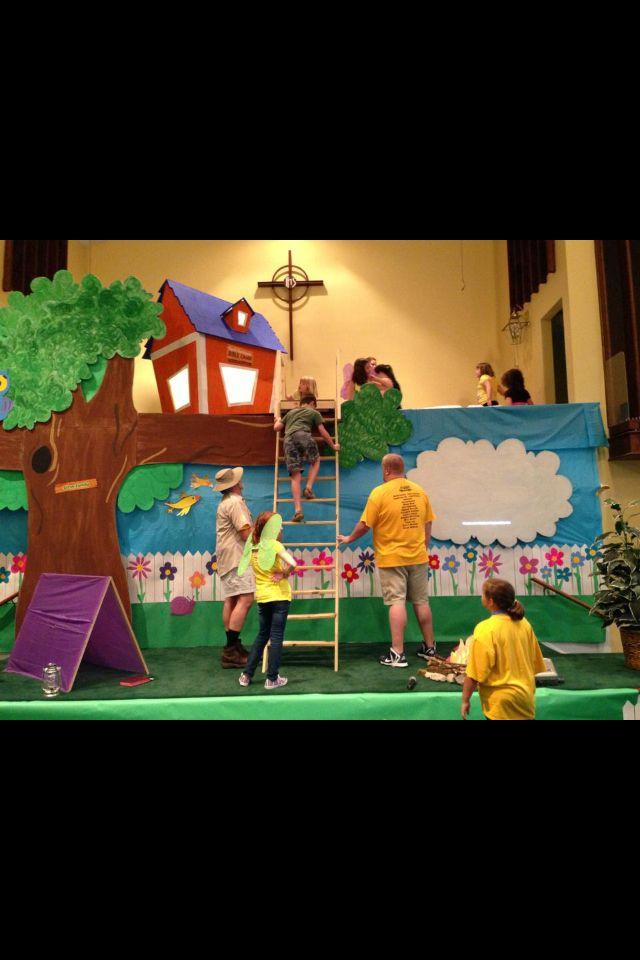God's Backyard Bible Camp at FPC South Charleston