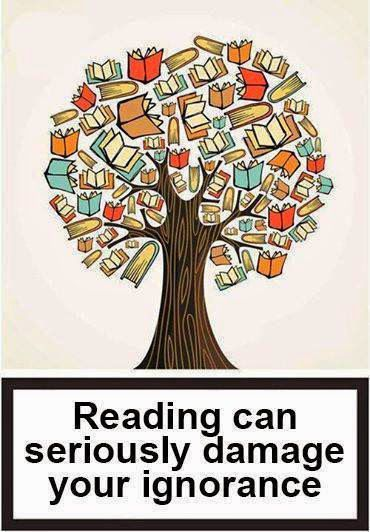 reading cures ignorance