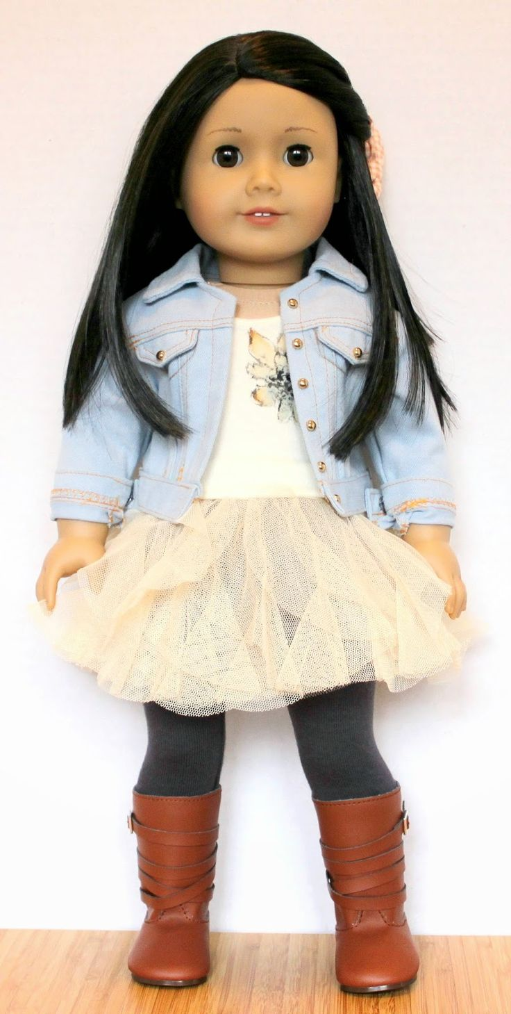 American Girl Doll Basic Knit Dress Pattern And Tutorial: The Doll Wardrobe: Not Just Dancewear: Isabelle's