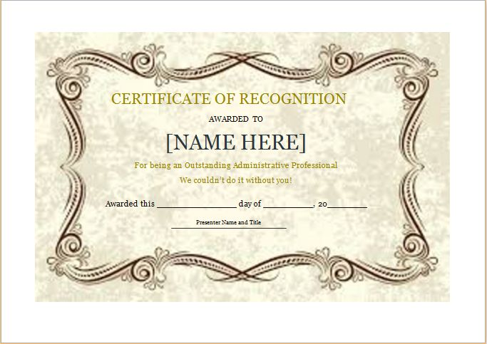 Well Done Award Certificate can be used by schools, educational - visitors log template