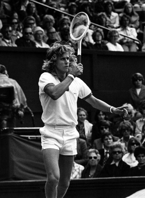 Björn Borg tennis legend vintage black & white old school tennis fashion www.republicofyou.com.au