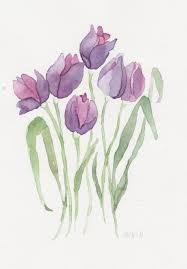 tulips drawing ile ilgili grsel sonucu