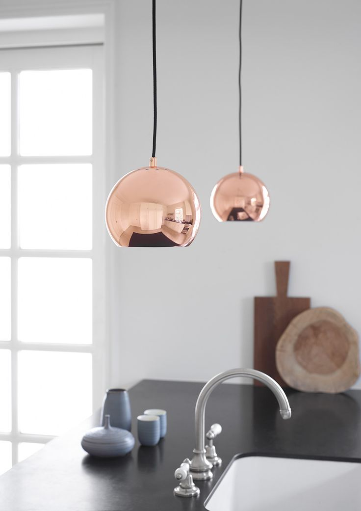 Ball pendant copper. Design: Benny Frandsen