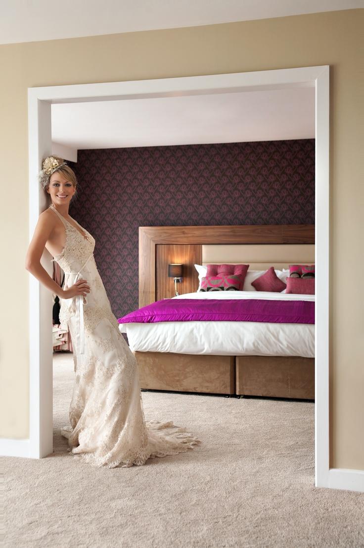 Bride in Bridal Suite @ Athlone Springs Hotel