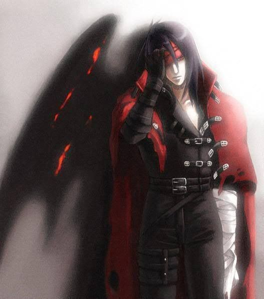 Vincent Valentine. Fan art. Final Fantasy VII.