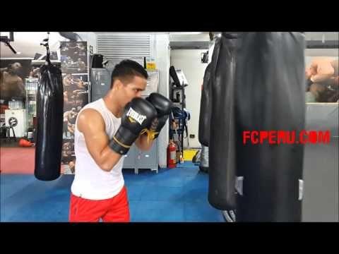 Entrenamiento Físico para boxeo: Trabajo de potencia y resistencia en diferentes sacos de boxeo - YouTube