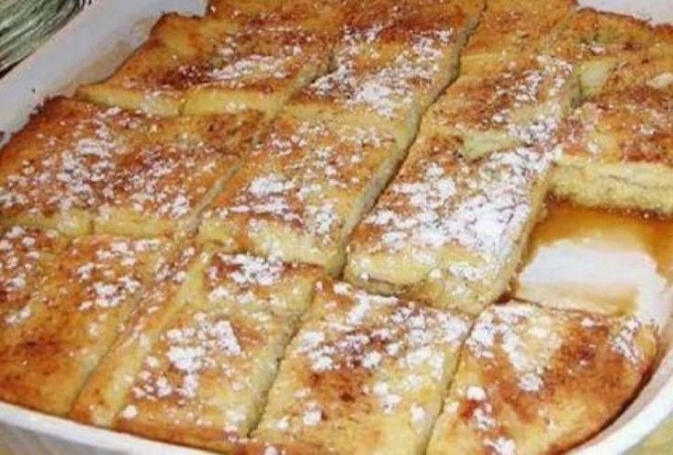 Υπέροχο πρωινό με ψωμί του τοστ στο φούρνο!