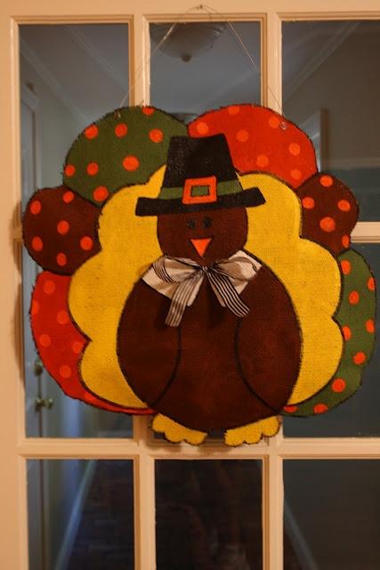 Marvelous For You More Traditional Folks, Hereu0027s My Pilgrim Turkey Thanksgiving Burlap  Door Hanger.