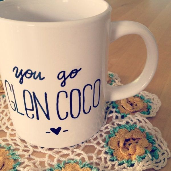 Mean Girls Quote 'You go Glen Coco'  Mug- MADE TO ORDER. $8.50, via Etsy.