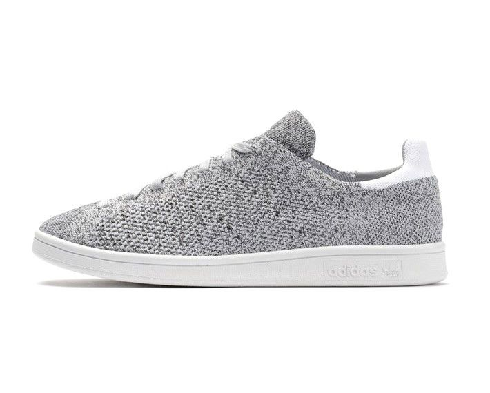 Adidas Stan Smith Primeknit NM Solid Grey White B27152 Mens \u0026 Womens Casual  Shoes