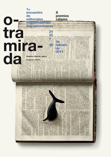 Typeverything.com  Otra mirada poster by Isidro Ferrer.